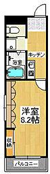 パークアベニュー竹原[2階]の間取り