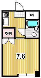 きんこん館[215号室]の間取り