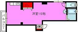 新鴻池マンション[3階]の間取り