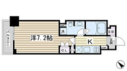 東京都豊島区巣鴨4丁目の賃貸マンションの間取り