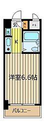 カミヤハイツ[3階]の間取り