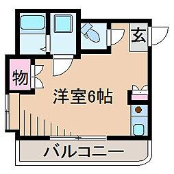 グリーンハイム大倉山II[2階]の間取り