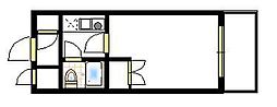 ジョイフル南林間第2[3階]の間取り