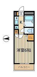 CLASSIC[3階]の間取り
