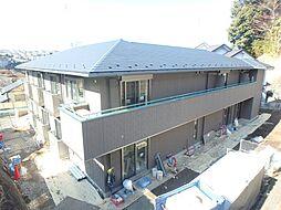 神奈川県横浜市緑区台村町の賃貸アパートの外観