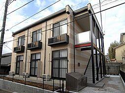 千葉県松戸市栗山の賃貸アパートの外観