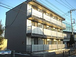 東京都羽村市双葉町1丁目の賃貸マンションの外観