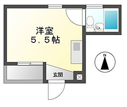 ALEGRIA PLACE徳川町(パインビル)[4階]の間取り