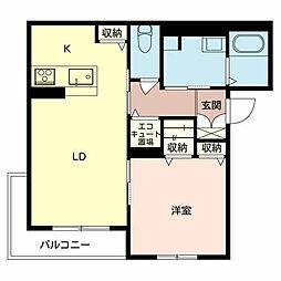 ソラーナ堺[2階]の間取り