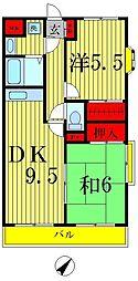 トヨダアメニティホームズ2[1階]の間取り
