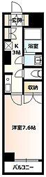 KIGARL21[402号室]の間取り