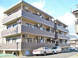 滋賀県大津市中庄2丁目の賃貸マンションの外観