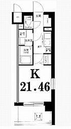 グリフィン横浜・山下公園[1108号室]の間取り