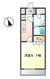 コンフォルト藤[2階]の間取り