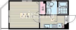7255-ピアコートTM阿佐ヶ谷壱番館[2階]の間取り