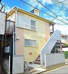 埼玉県ふじみ野市鶴ケ丘3丁目の賃貸アパートの外観