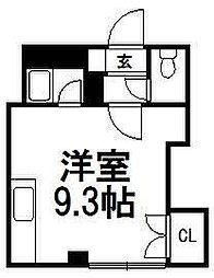 北海道札幌市豊平区美園五条4丁目の賃貸マンションの間取り