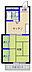 間取り,1K,面積24.75m2,賃料2.1万円,JR常磐線 水戸駅 3.6km,,茨城県水戸市袴塚1丁目7番地