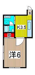 シャルムカトー[3階]の間取り