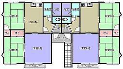 シャトーガーデン[1階]の間取り