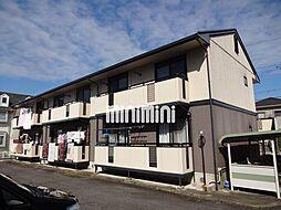 愛知県岡崎市百々西町の賃貸アパートの外観