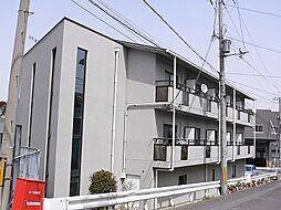 滋賀県大津市富士見台の賃貸マンションの外観