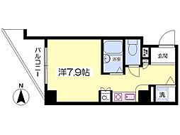 エムロード福島[704号室]の間取り