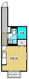Monarie aki[2階]の間取り