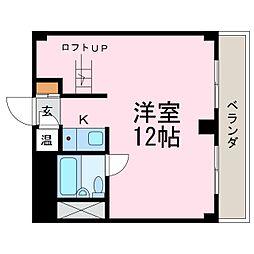 シティライフ鶴舞[11階]の間取り