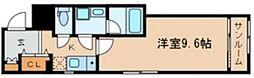 DRマンションI bt[407kk号室]の間取り