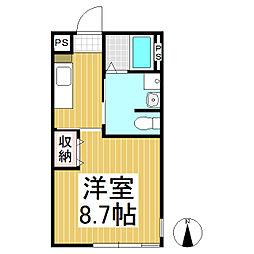 メゾン リガシーII[2階]の間取り