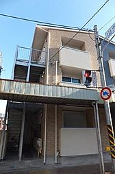 神奈川県横浜市中区山元町1の賃貸アパートの外観