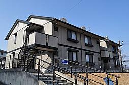 ルミエール梅美台A棟[2階]の外観