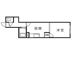 東光第1[2階]の間取り