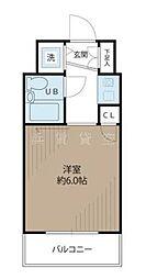 ステラコート横浜南[8階]の間取り