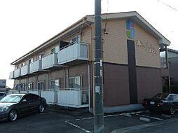 愛知県岩倉市大市場町郷廻の賃貸アパートの外観