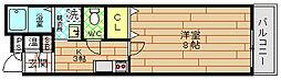 コンスミル[2階]の間取り