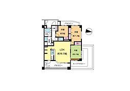 マンション(若葉駅から徒歩9分、3LDK、2,290万円)