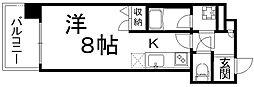 アドバンス京都四条堀川ノーブル[7階]の間取り