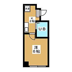 バインオーク クリサンセマム[4階]の間取り