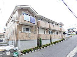 千葉県松戸市六実4丁目の賃貸アパートの外観
