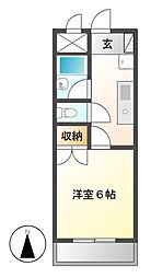 DAIMAN HOUSE昭和橋[3階]の間取り