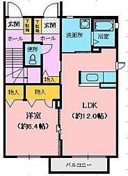K−2[1階]の間取り