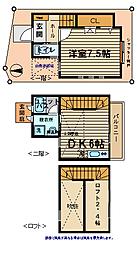 [テラスハウス] 東京都杉並区和泉2丁目 の賃貸【/】の間取り