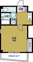 コンティニュー千代崎[4階]の間取り