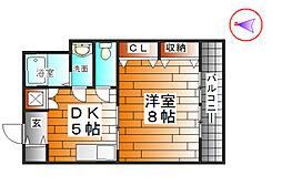 兵庫県神戸市北区藤原台北町1丁目の賃貸マンションの間取り