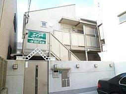 大阪府大阪市阿倍野区桃ケ池町2丁目の賃貸アパートの外観