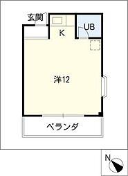 アンフィニ幸田[3階]の間取り
