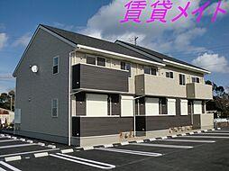三重県伊勢市二見町西の賃貸アパートの外観