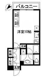 シュロス武蔵小山[2階]の間取り